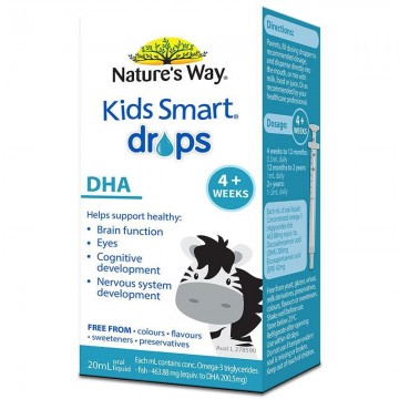 Nature's Way Kids Smart 婴儿DHA 滴剂 20ml( Exp01/2019)