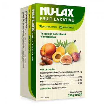 Nulax Fruit Laxative 乐康膏 250g