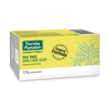 Thursday tea skin care tree soap 茶树护理香皂 125g