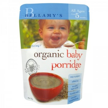 Bellamy's Organic Baby Porridge 5+ 贝拉米有机粥5+米粉 125g