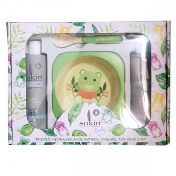 Sukin baby wash & lotion  set 儿童洗护套装