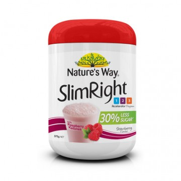 Nature's way SlimRight 瘦身奶昔覆盆子味 375g