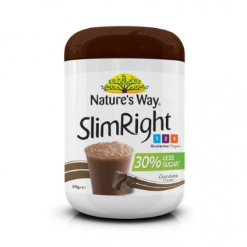 Nature's way SlimRight 瘦身奶昔巧克力味 375g
