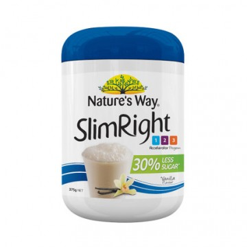 Nature's way SlimRight 瘦身奶昔香草味 375g(Exp01/2019)
