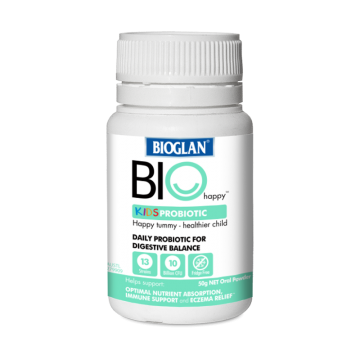 Bioglan BIOHAPPY KIDS PROBIOTIC 儿童益生菌 50g