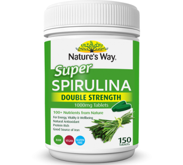Nature's Way Spirullina 螺旋藻片 150粒