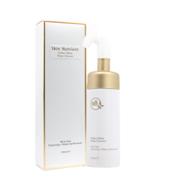 Skin Nutrient Perfect White Magic Cleanser 胺基酸美白魔法洁面乳 带刷头 150ml