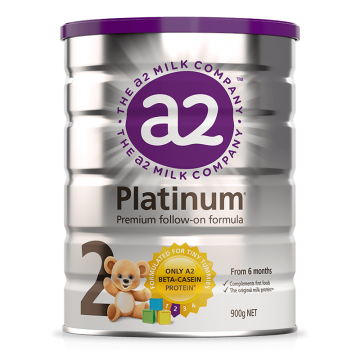 A2 Platinum premium Follow-on formula 2段 二段 婴儿配方奶粉 900g